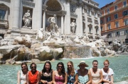 The Girls by the Trevi Fountain